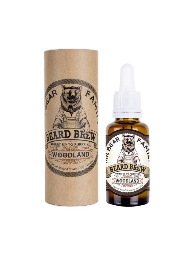 Man Cave Beard Oil : Mr bear family beard brew mancave